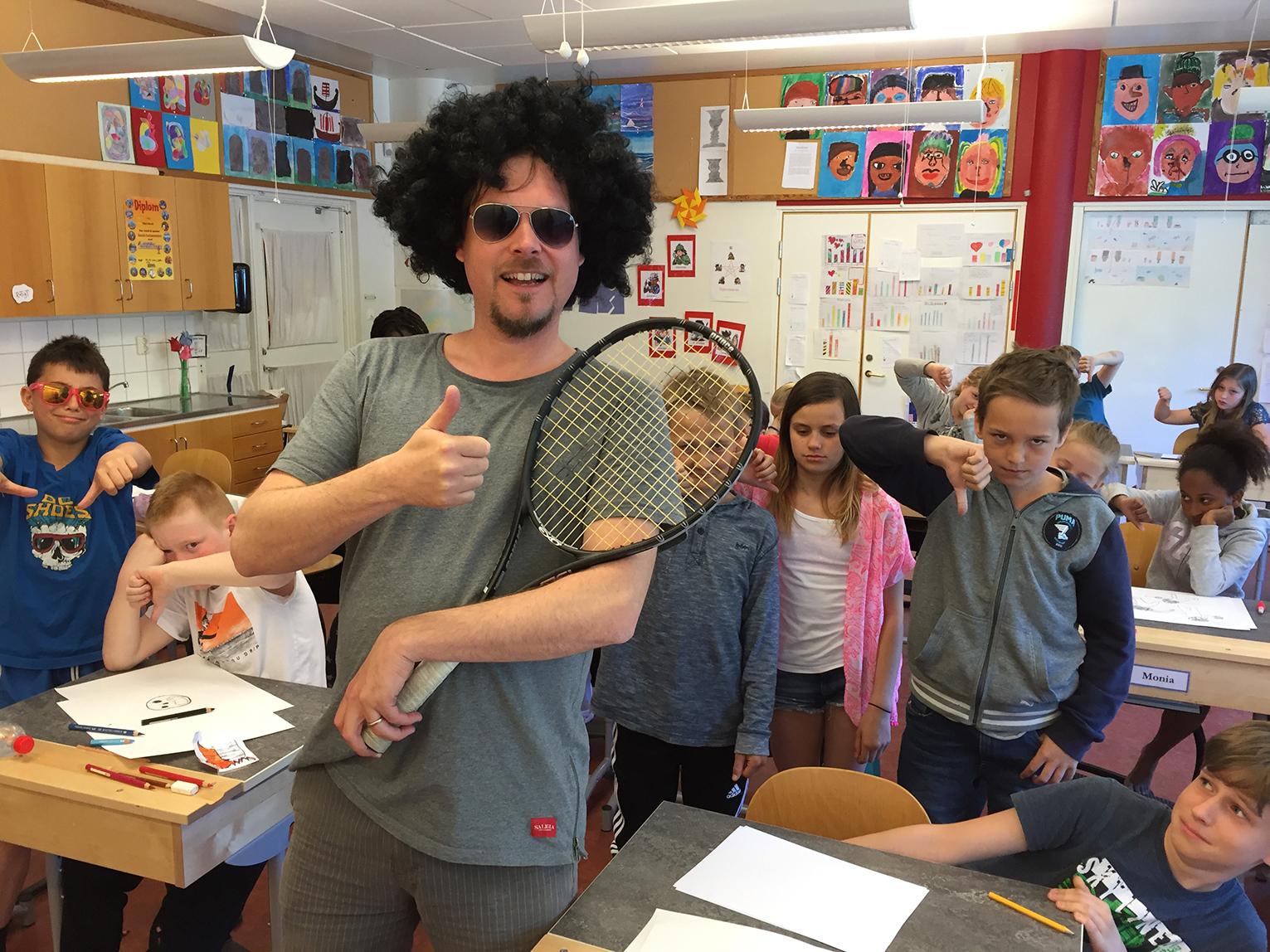 Skapande skola med Mattias Olsson