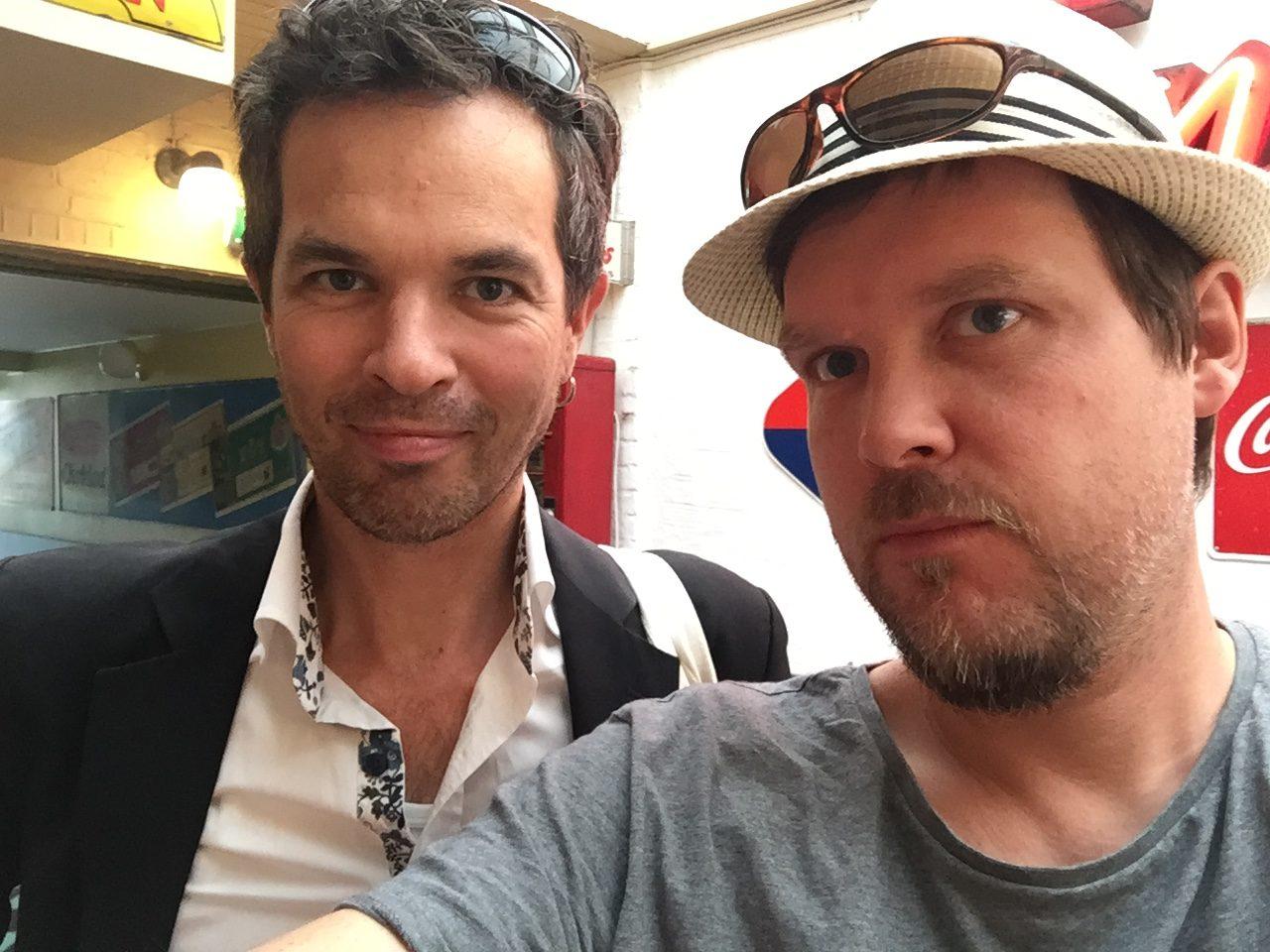 Mattias Olsson och Mårten Melin