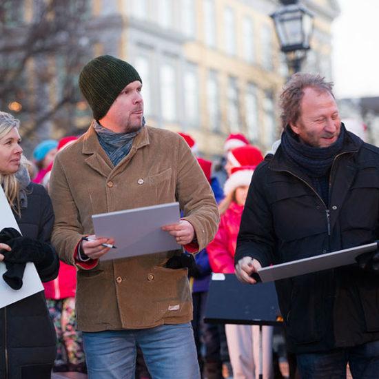 Mattias Olsson och Sören Olsson med fler