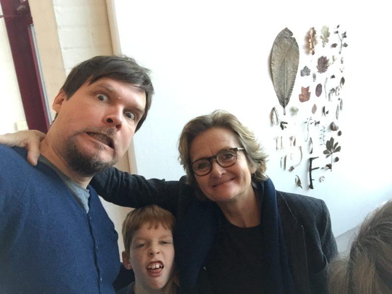 Mattias Olsson och Spyflugan Astrid