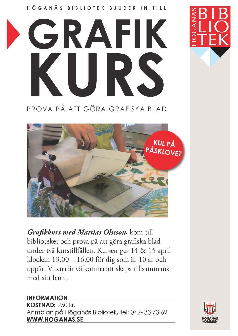 Ny grafikworkshop. New print workshop