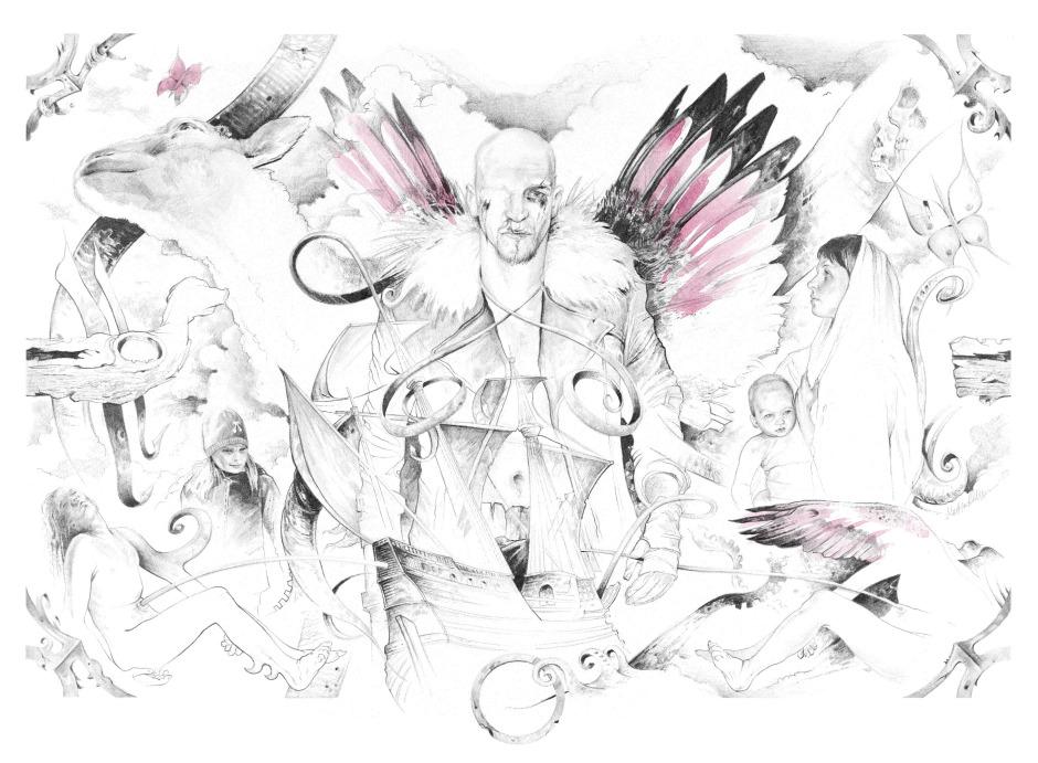 Odd Molly Illustration, Color